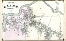 Salem City, Salem and Gloucester Counties 1876